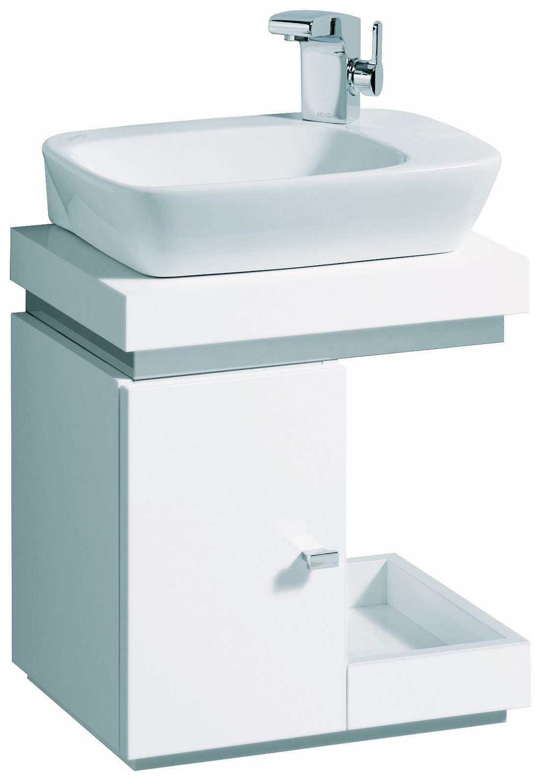 keramag silk handwaschbecken 400mm x 295mm wei alpin 121640000. Black Bedroom Furniture Sets. Home Design Ideas