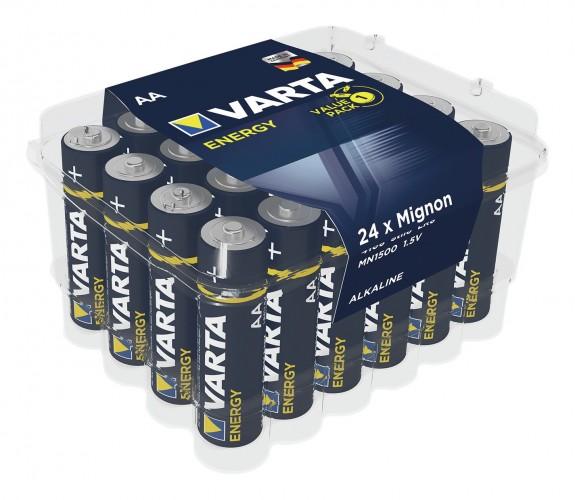 Varta 2019 Freisteller Batterie-Energy-AA-24er-Box