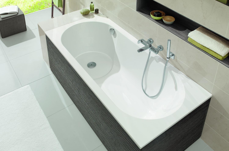 villeroy boch united eck badewannenverkleidung glossy white f r badewannen zubeh r. Black Bedroom Furniture Sets. Home Design Ideas