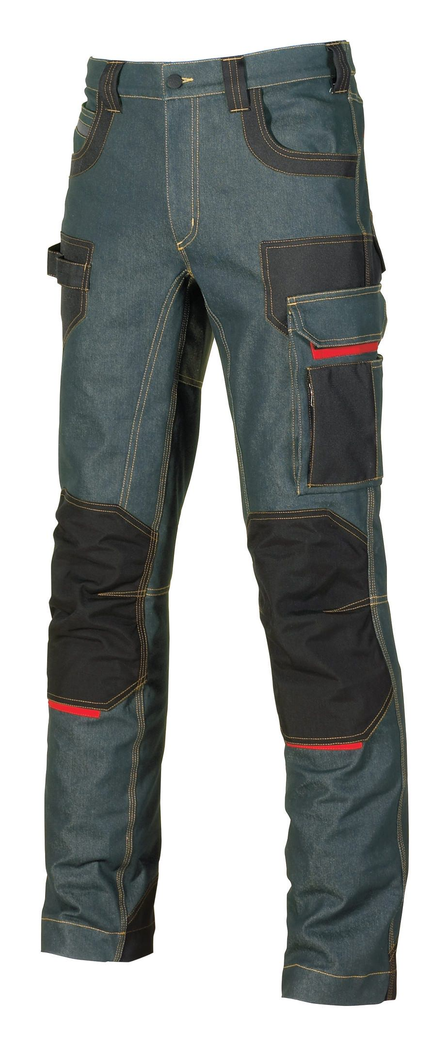 U-Power Jeanshose Platinum Button Rust Jeans Größe 54 - EX069RJ/54