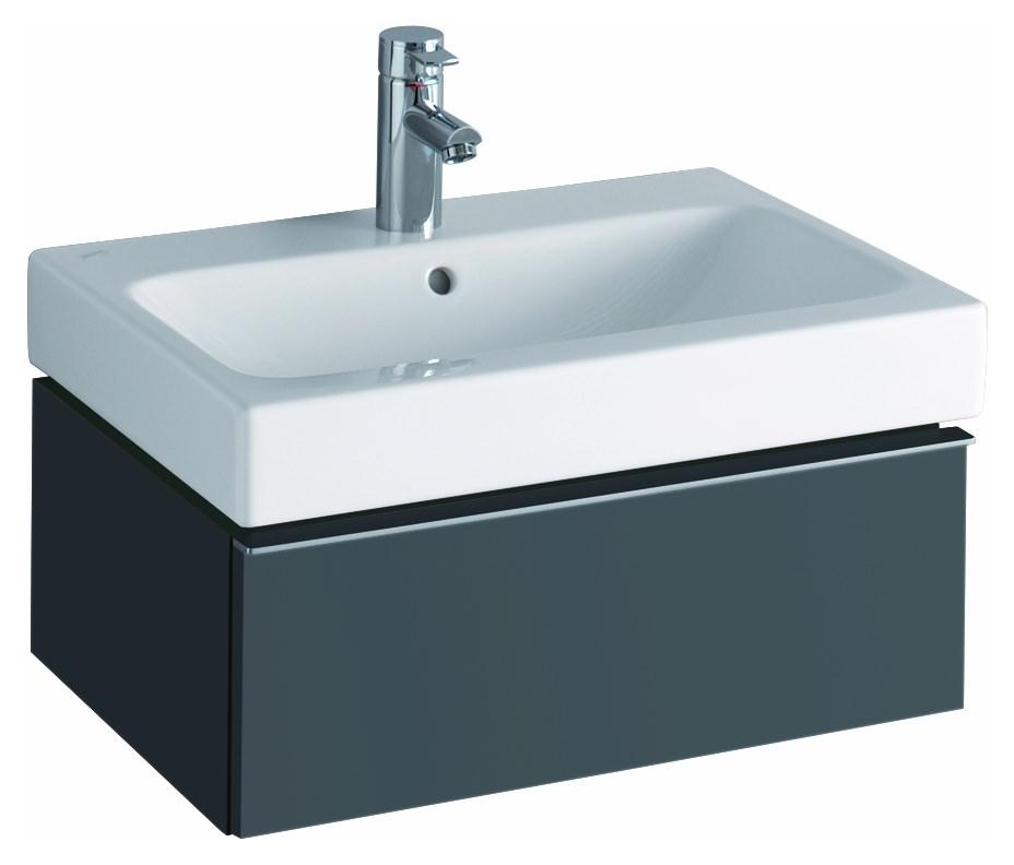 keramag icon waschtischunterschrank 595x240x477mm lava matt 841261000. Black Bedroom Furniture Sets. Home Design Ideas