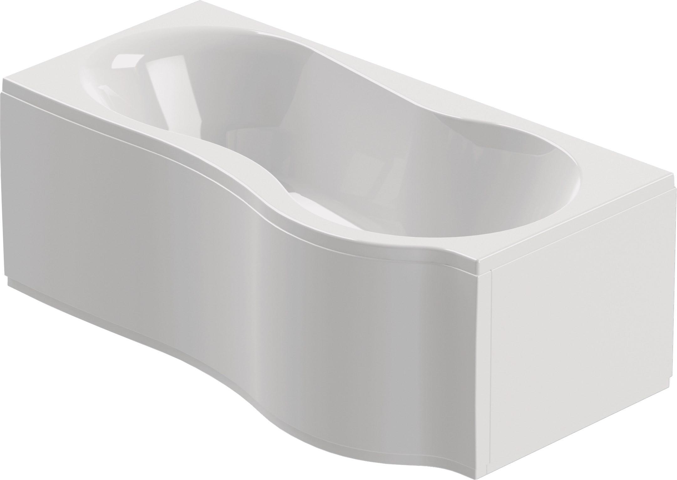 chr schr der flora kombi badewanne 180cm x 75 90cm rechts mit sch rze. Black Bedroom Furniture Sets. Home Design Ideas