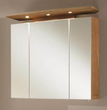 e zoll simply bingo spiegelschrank 80cm noce nachbildung 41447. Black Bedroom Furniture Sets. Home Design Ideas