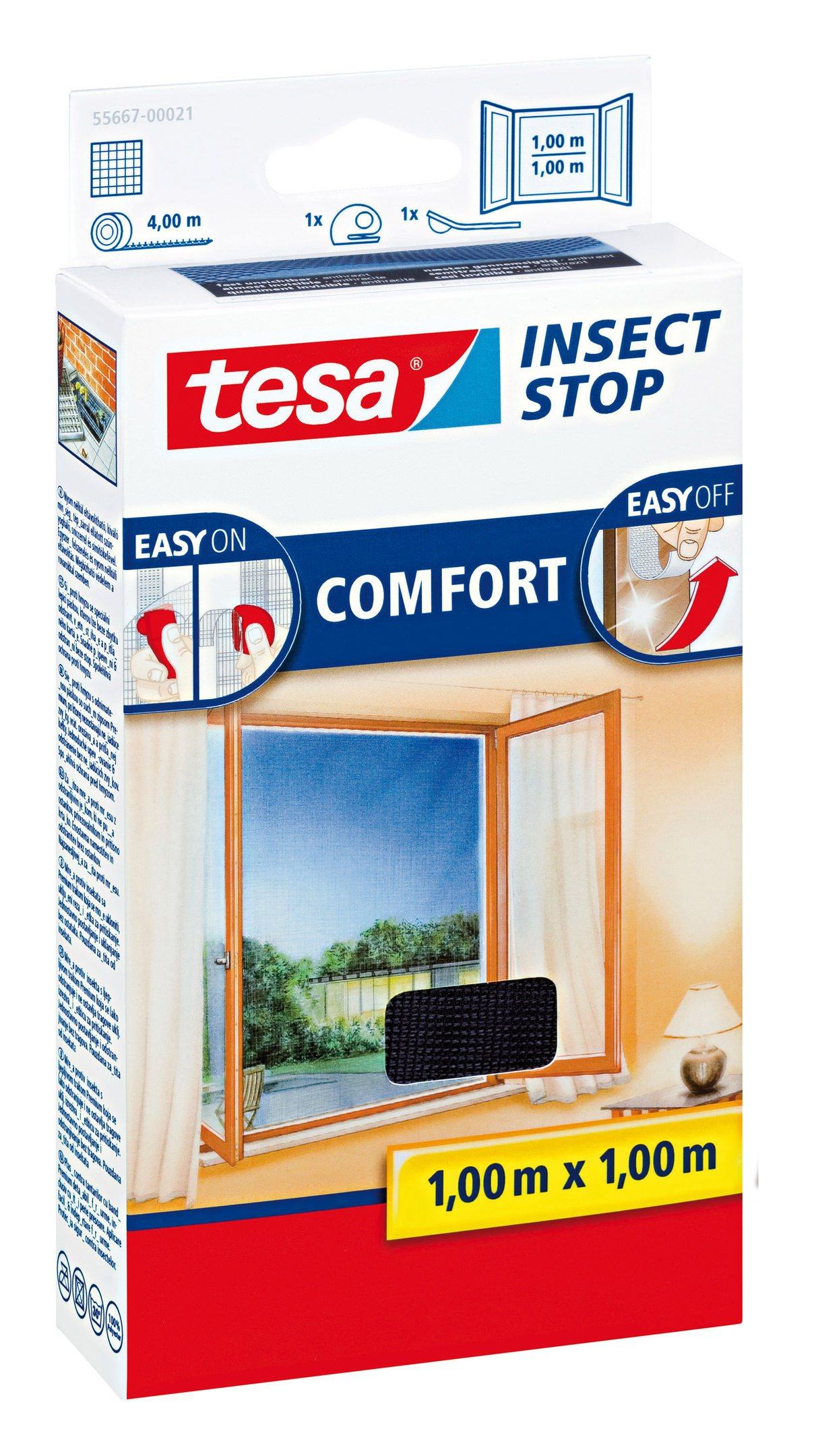 tesa fliegengitter klettband 5 6m ersatzrolle 55387 20 00. Black Bedroom Furniture Sets. Home Design Ideas