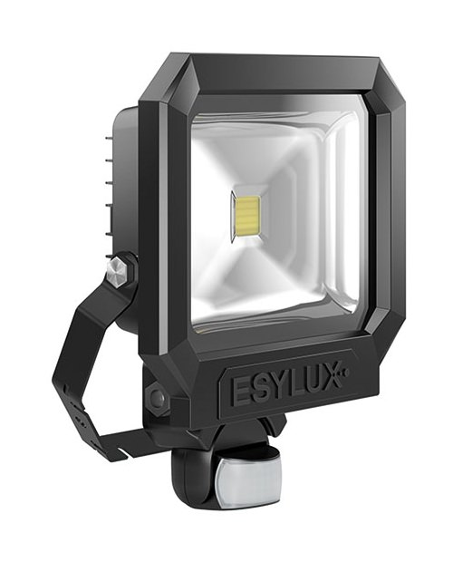 Esylux LED-Strahler 30W 1 LED 2400lm IP65 schwarz matt ...