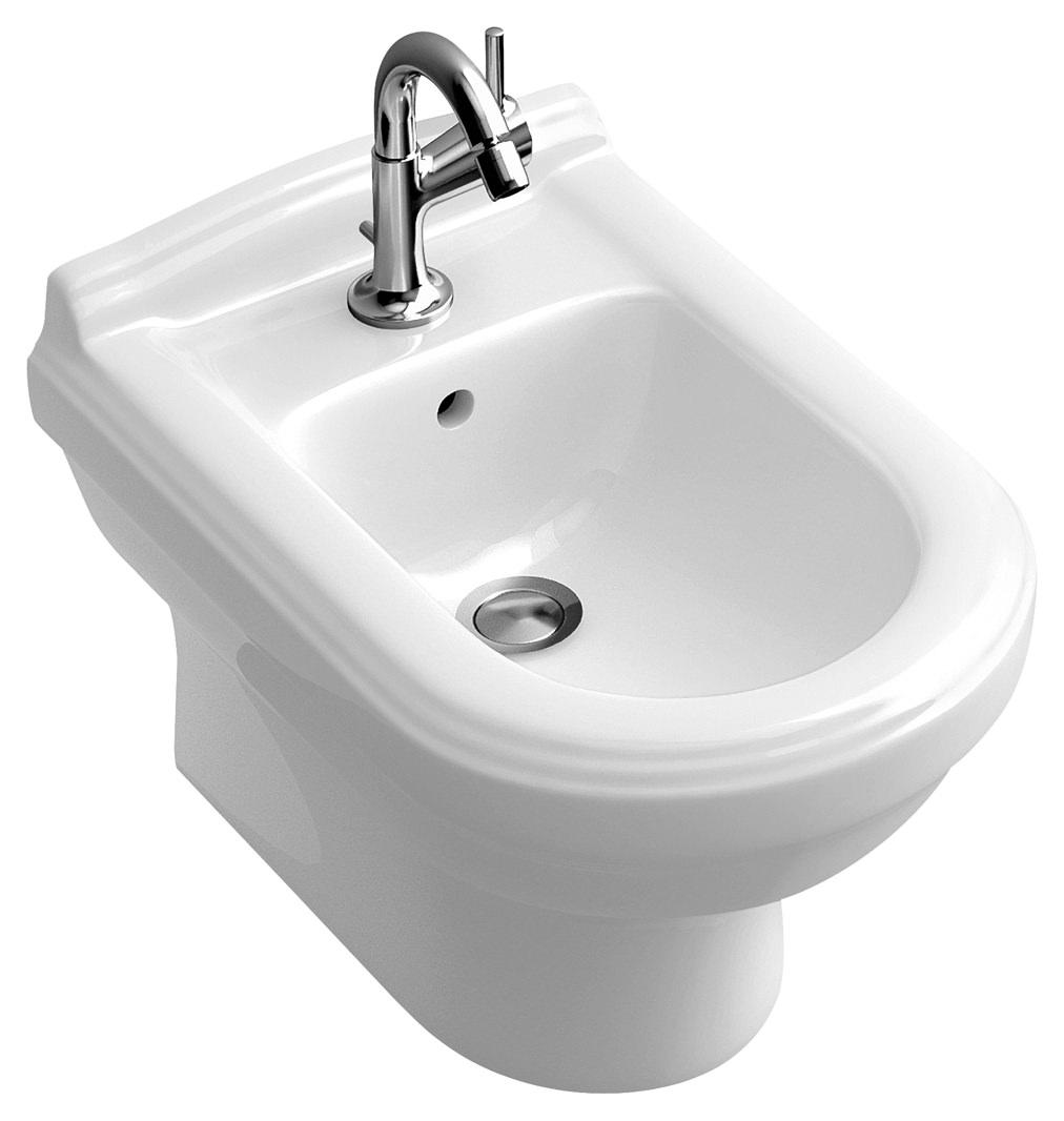 villeroy boch hommage bidet wandh ngend wei alpin ceramicplus 7441b0r1. Black Bedroom Furniture Sets. Home Design Ideas