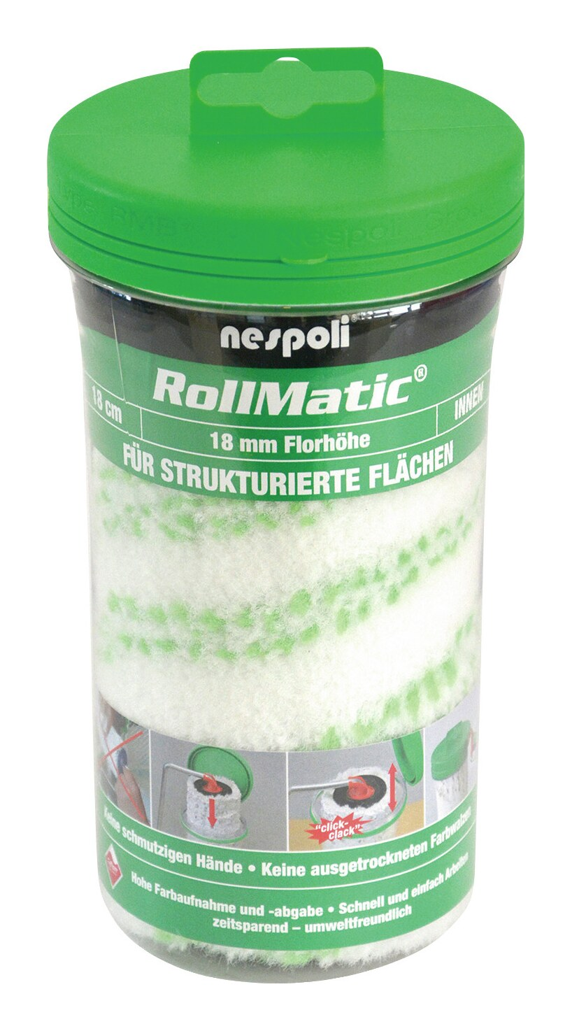 Farbwalze Rollmatic 18cm FH 18mm - 525610218 800