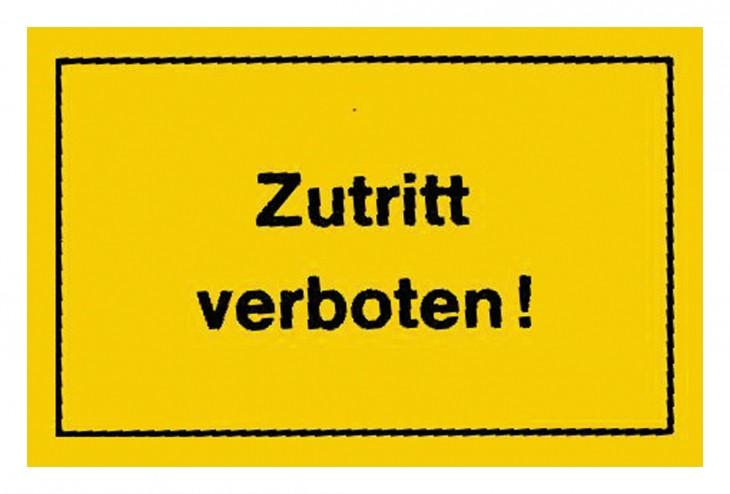 Werkstatt 2017 Foto Verbotsschilder-Zutritt-verboten