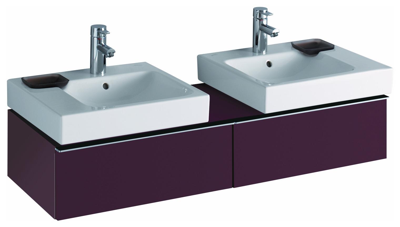 keramag icon waschtisch dekoschale links 500mm x 485mm wei alpin waschtische badkeramik. Black Bedroom Furniture Sets. Home Design Ideas