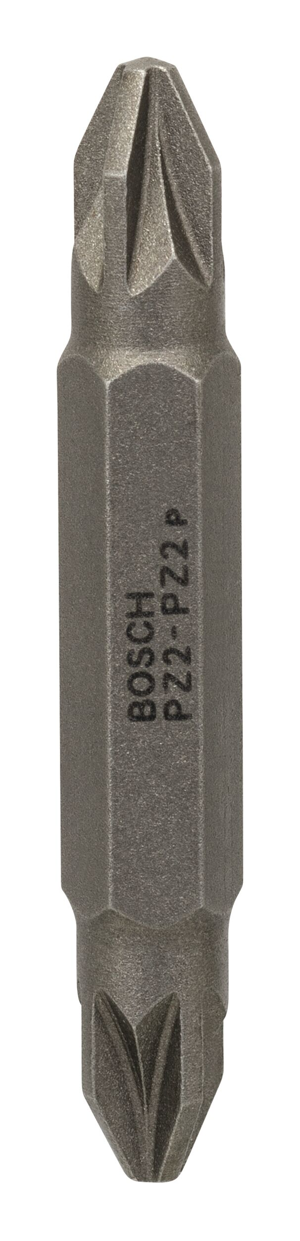 Bosch Zubehör Doppelklingenbit PZ2, PZ2, 45 mm - 2607001742 (VPE: 10 Stück)