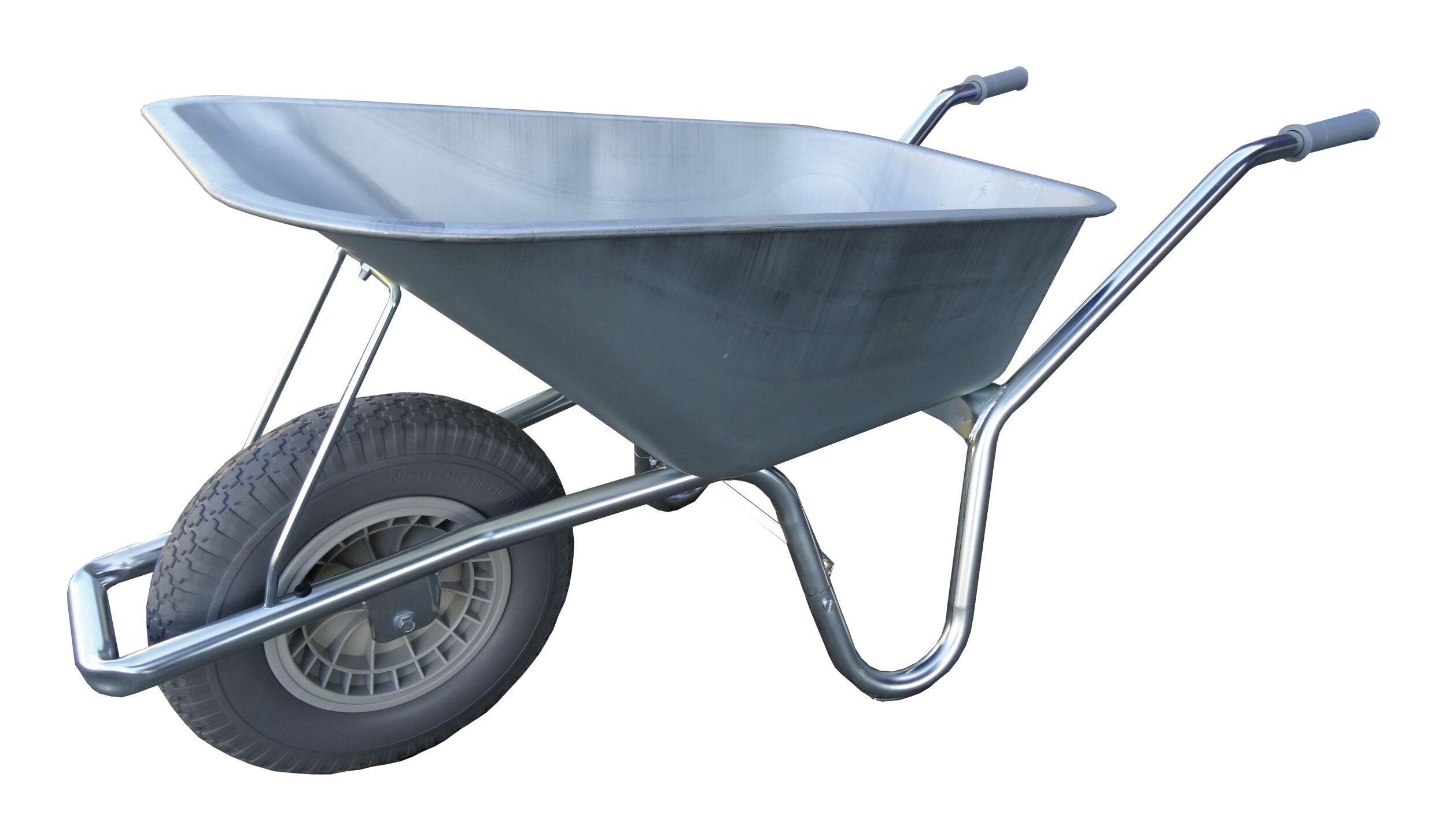 90/Liter verzinkt Robuste Schubkarre