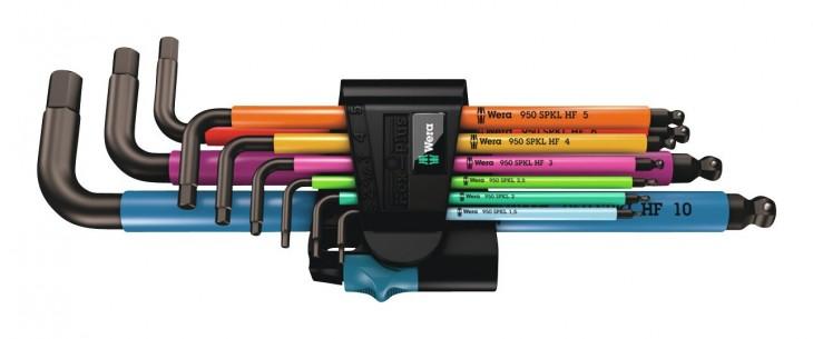 Wera 2019 Freisteller Winkelschraubendr-Satz-9tlg-Multicolor-HF 2