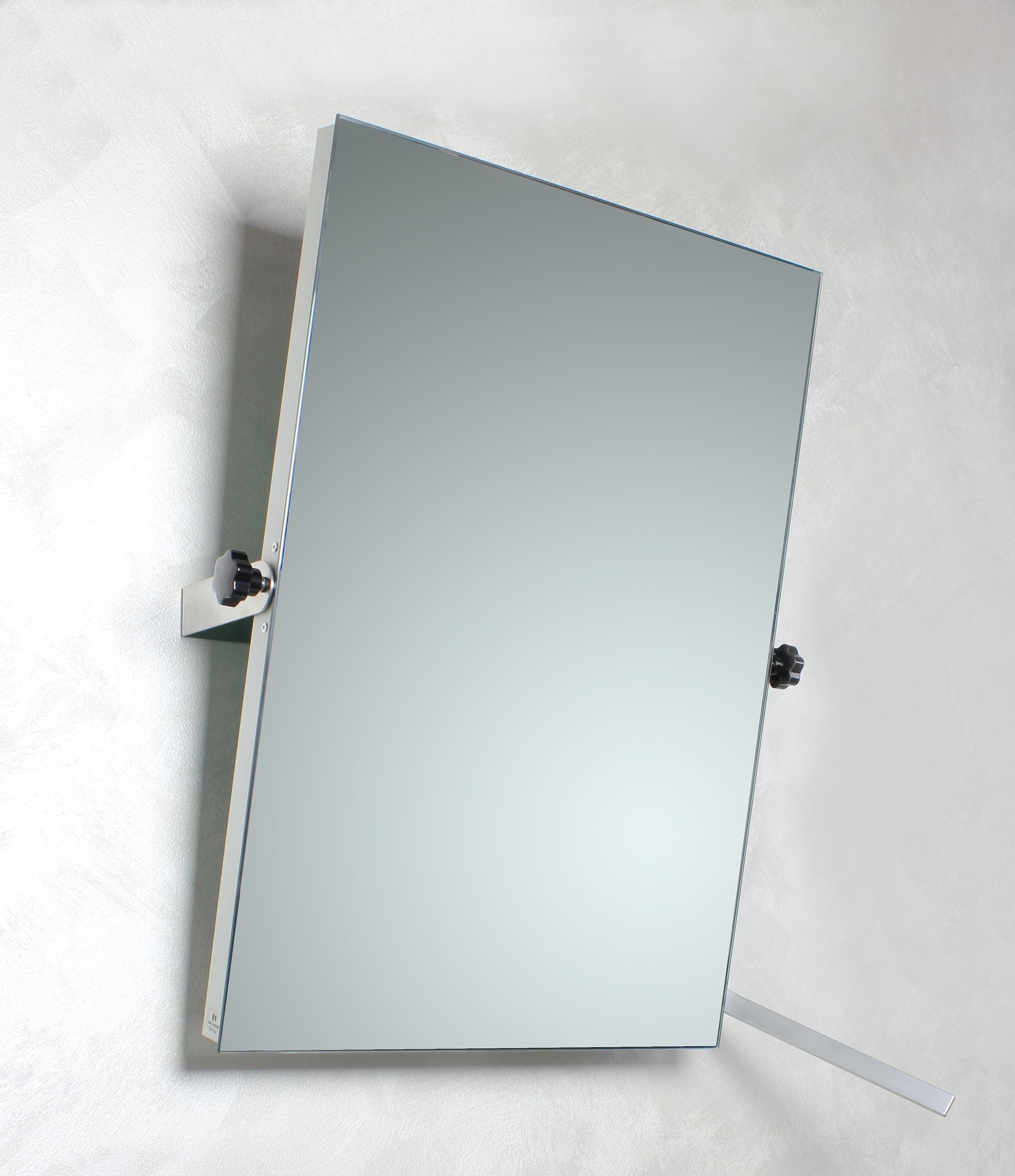 koh i noor specchio inclinabile behindertengerechter kippbarer spiegel 500 x 700 mm 45622d. Black Bedroom Furniture Sets. Home Design Ideas