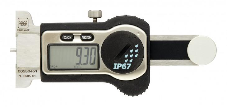 Tesa 2019 Freisteller Tiefenmessschieber-Digi-IP67-0-25mm-Stift