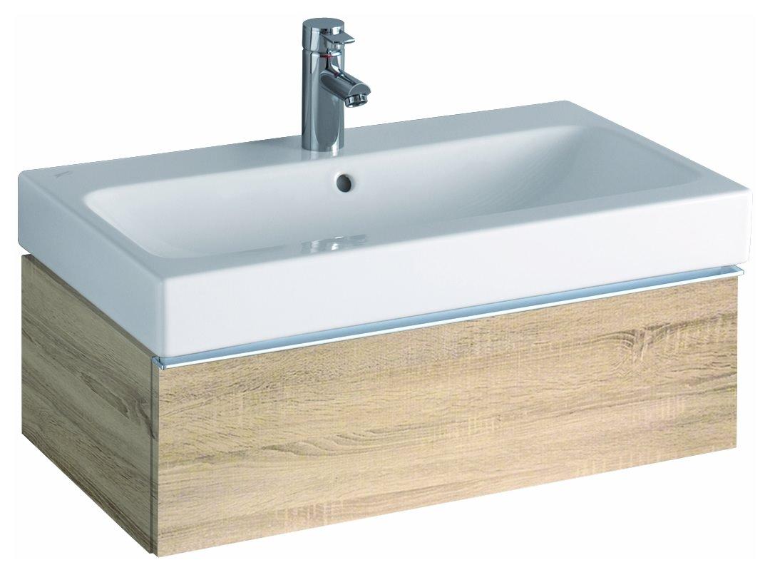 keramag icon waschtischunterschrank 740x240x477mm holzstruktur eiche natur 841277000. Black Bedroom Furniture Sets. Home Design Ideas