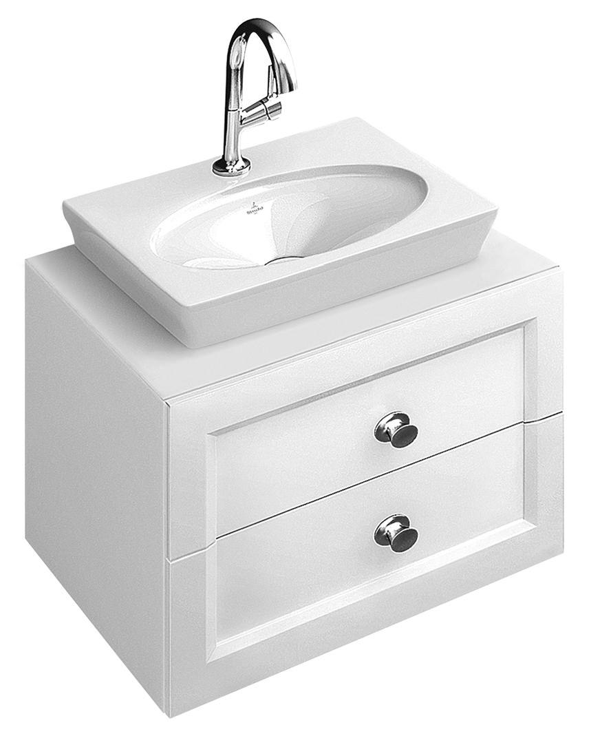 Villeroy boch la belle aufsatz handwaschbecken 520 x 460 - Duschkabine villeroy boch ...