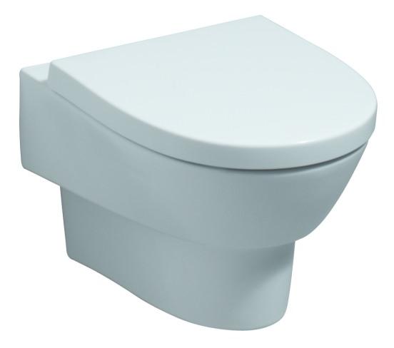 keramag flow wc sitz mit absenkautomatik wei alpin 575950000. Black Bedroom Furniture Sets. Home Design Ideas