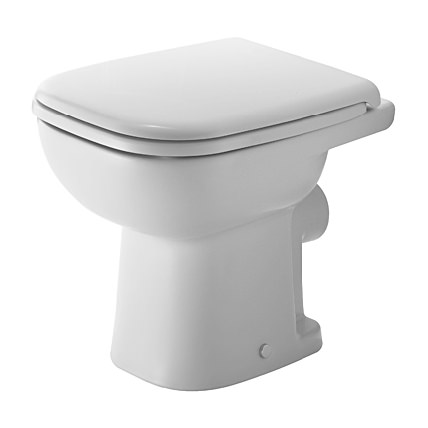 duravit d code stand wc 350 x 480 mm tiefsp ler mit abgang waagrecht wei 2108090000. Black Bedroom Furniture Sets. Home Design Ideas
