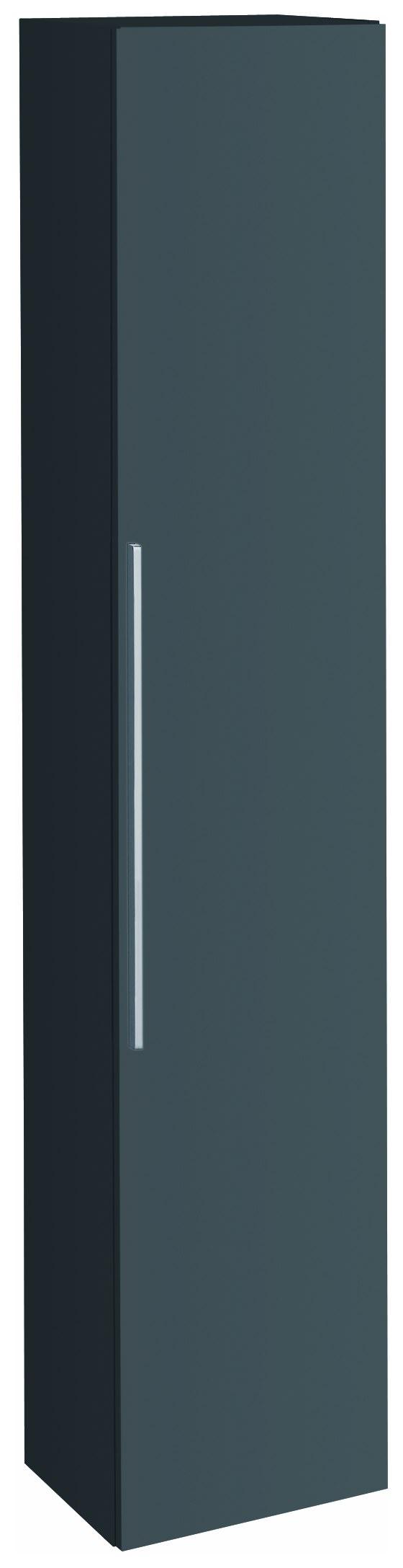 keramag icon hochschrank 360x1800x292mm lava matt 841001000. Black Bedroom Furniture Sets. Home Design Ideas