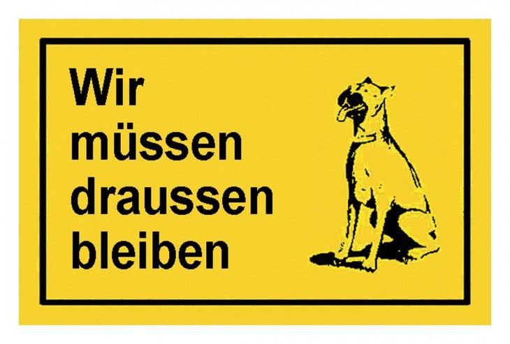 Werkstatt 2017 Foto Verbotsschilder-draussen-blei