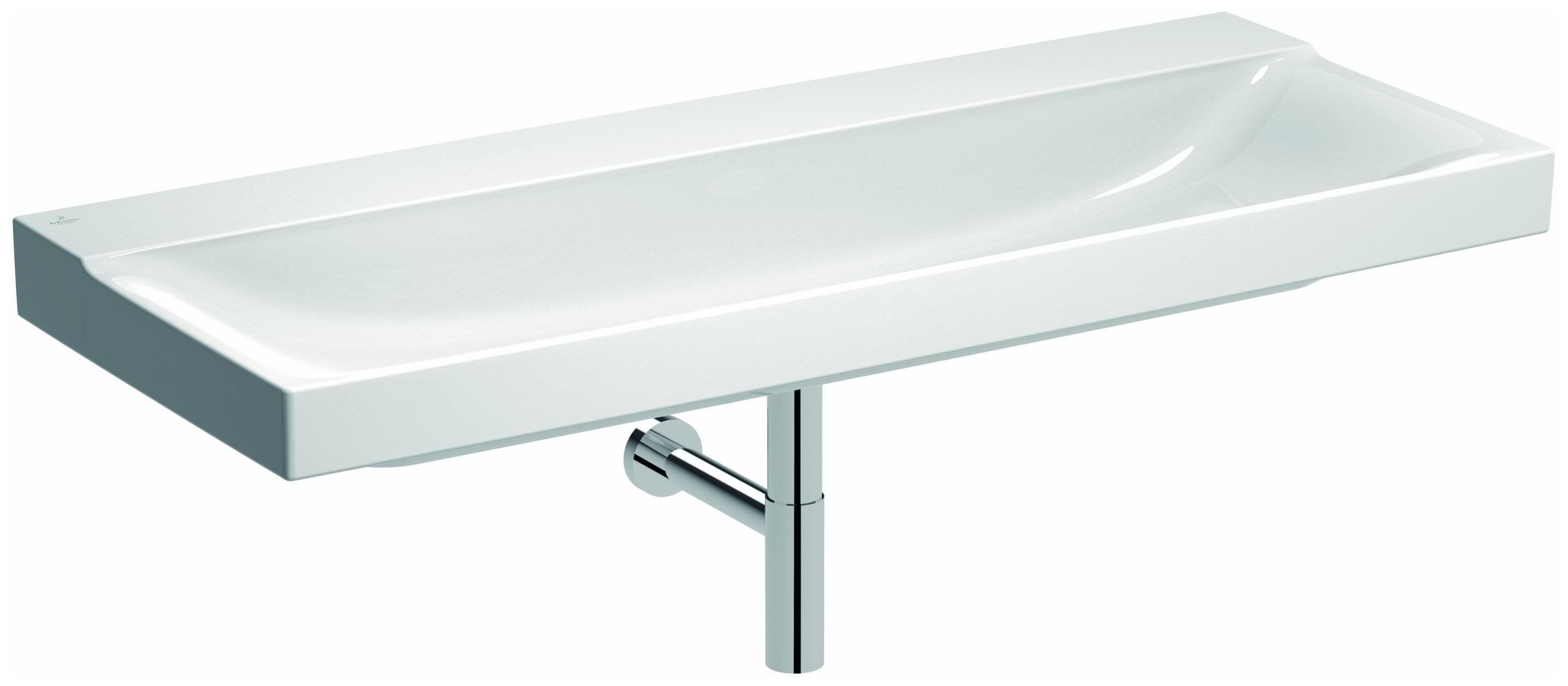 keramag xeno2 waschtisch 1200mm x 480mm ohne hahnloch ohne berlauf wei alpin keratect. Black Bedroom Furniture Sets. Home Design Ideas