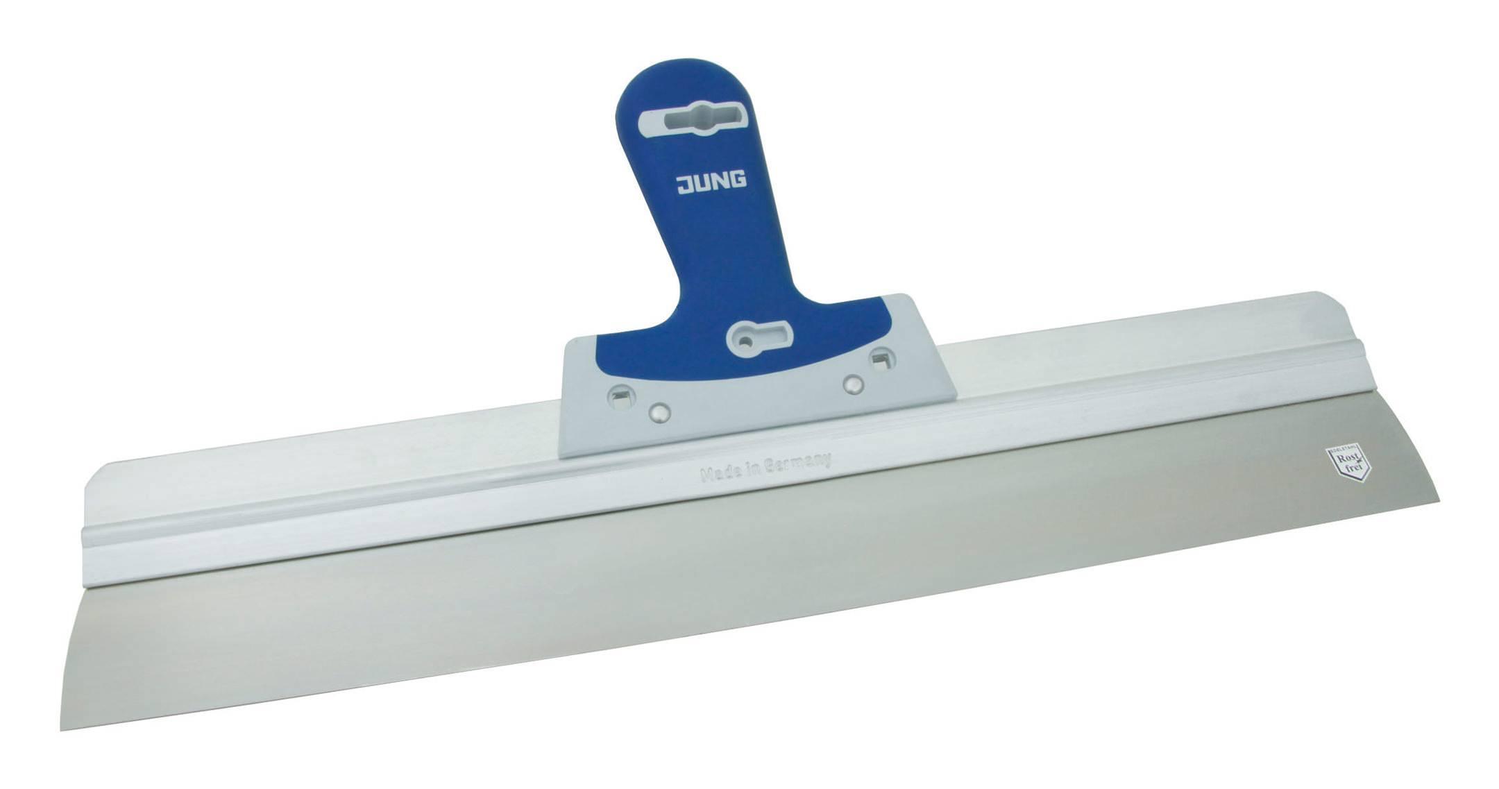 FLÄCHENSPACHTEL Rostfrei mit Kunststoffheft 400 mm oder 600 mm