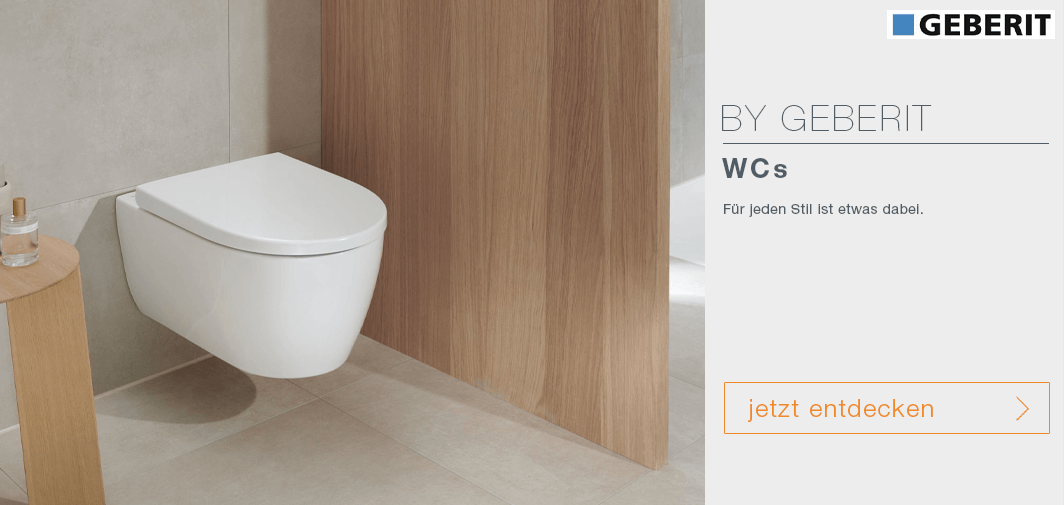 WCs by Geberit