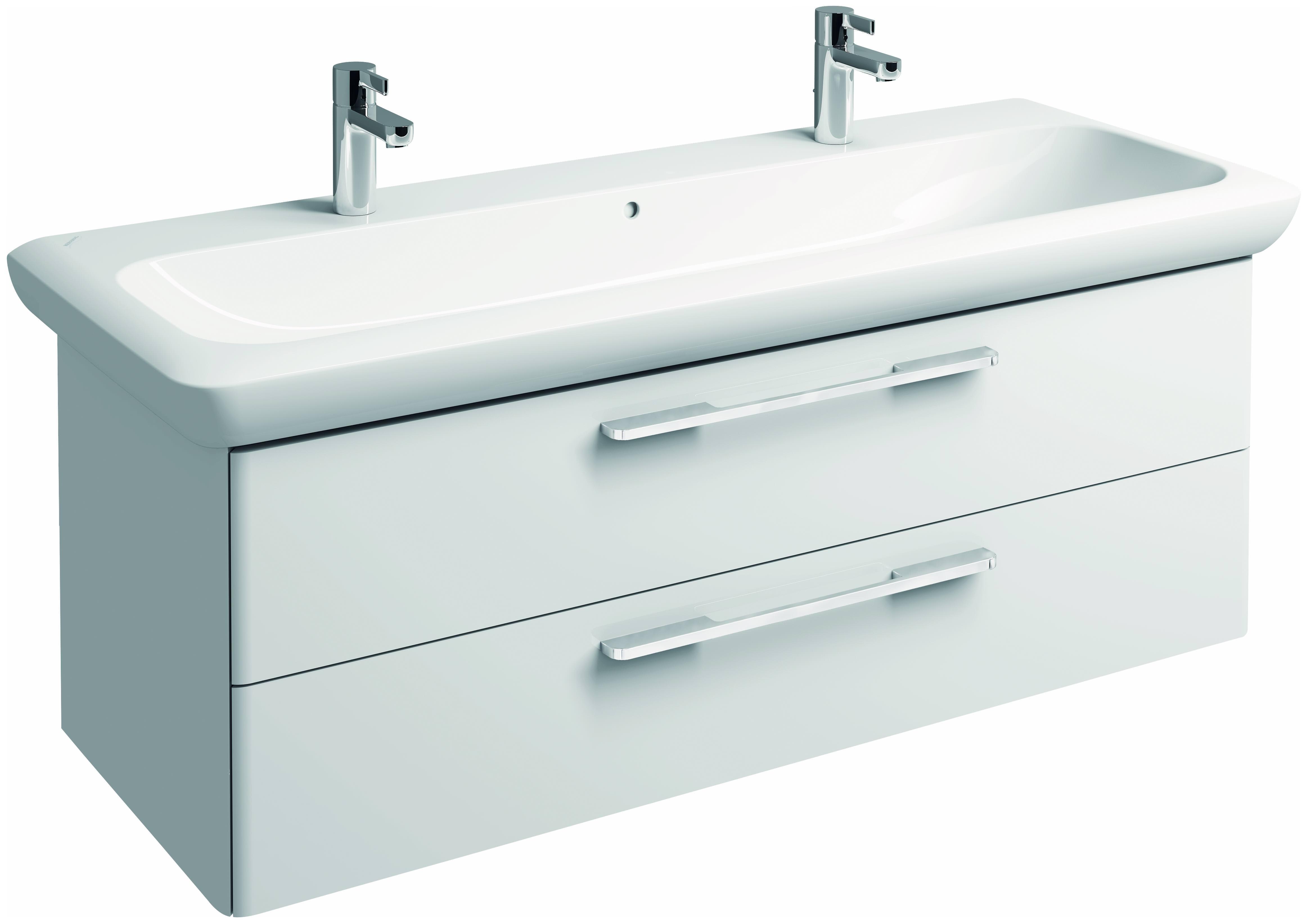 keramag it waschtischunterschrank 1200x427x434mm wei hochglanz 819130000. Black Bedroom Furniture Sets. Home Design Ideas