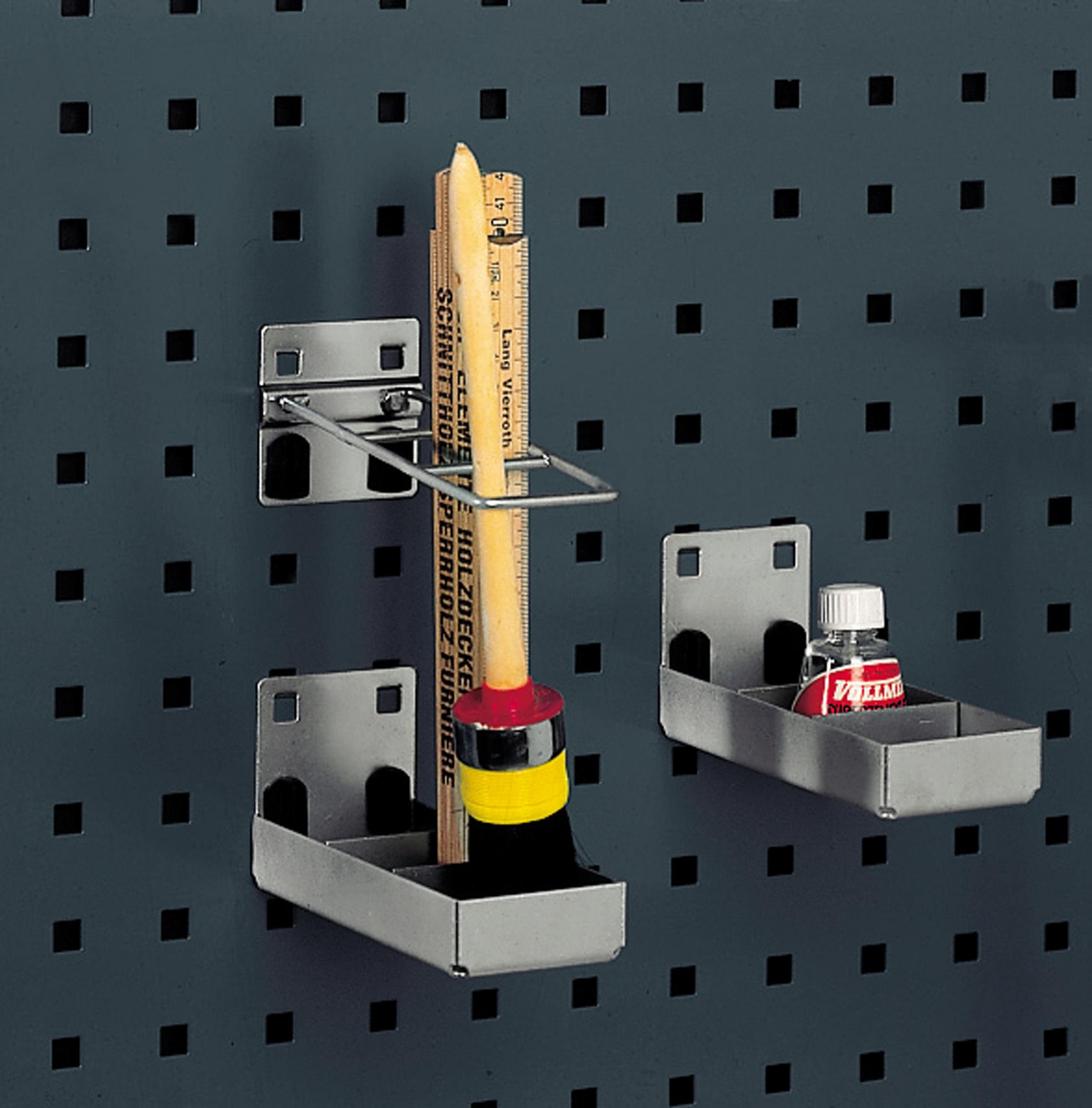 bott perfo 14022011 Kombihalter mit 3 Aufnahmen f/ür Lochplatten