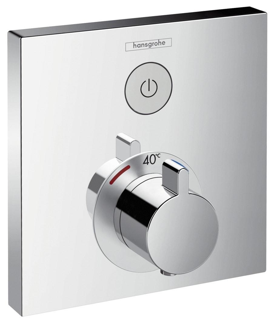 hansgrohe thermostat unterputz showerselect fertigset 1. Black Bedroom Furniture Sets. Home Design Ideas