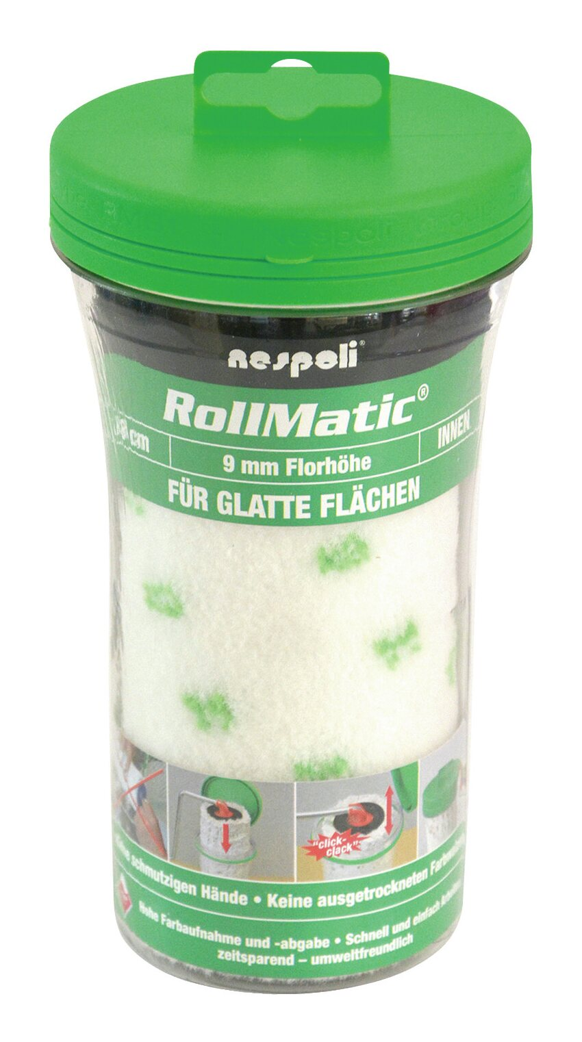 Farbwalze Rollmatic 18cm FH 9mm - 525580218 800