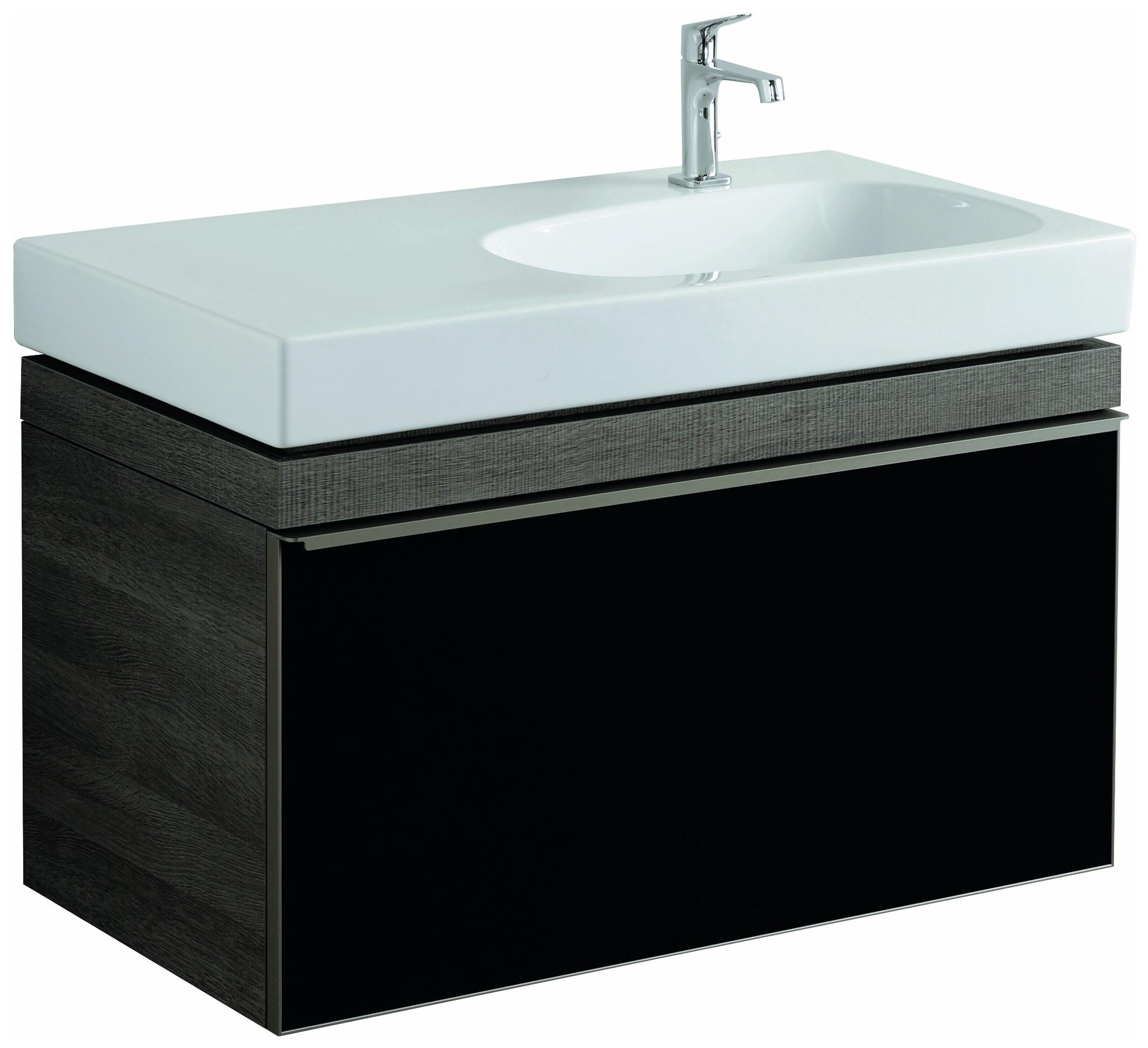 keramag citterio waschtischunterschrank 884x554x504mm holzstruktur graubraun 835191000. Black Bedroom Furniture Sets. Home Design Ideas