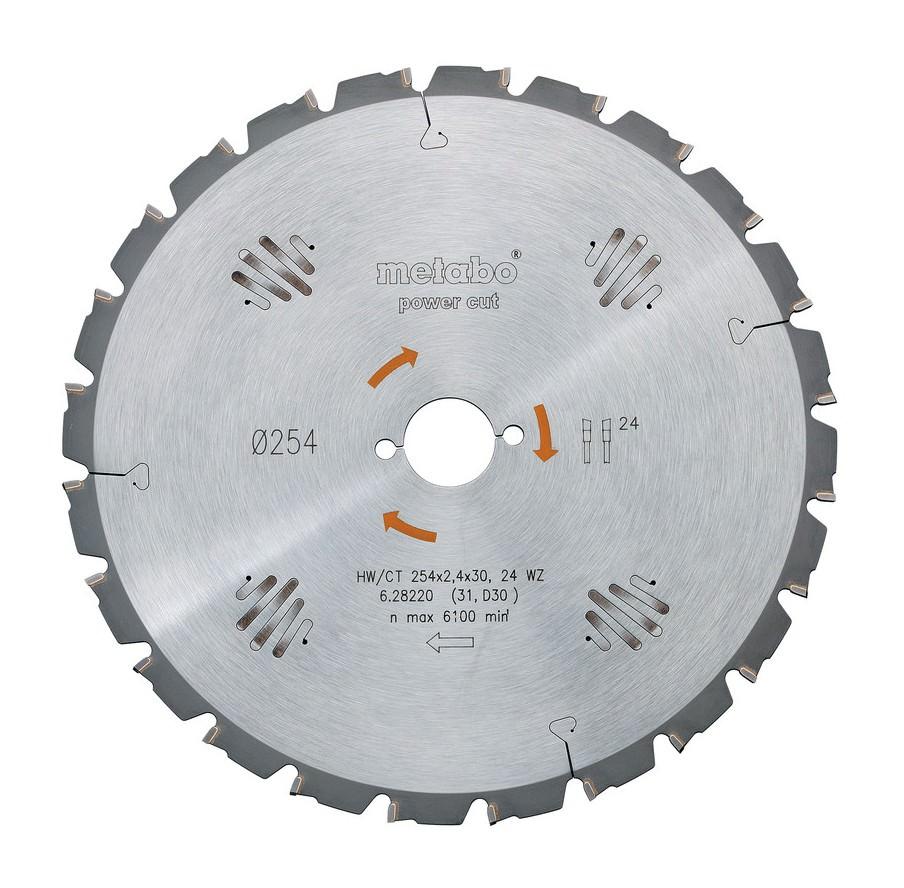 Kreissägeblatt HW/CT 400 x 30 x 3,5 / 2,5 Zähnezahl 60 Wechselzahn - 628019000