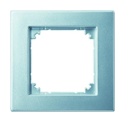 merten rahmen 1fach aluminium matt kunststoff thermoplast 486160. Black Bedroom Furniture Sets. Home Design Ideas