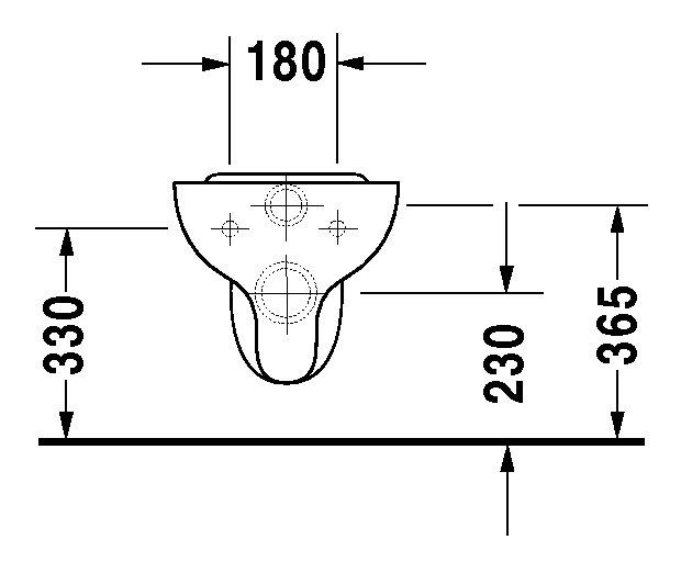 duravit duraplus wand wc hornberg 360 x 530 mm tiefsp ler pergamon wondergliss 01920947001. Black Bedroom Furniture Sets. Home Design Ideas