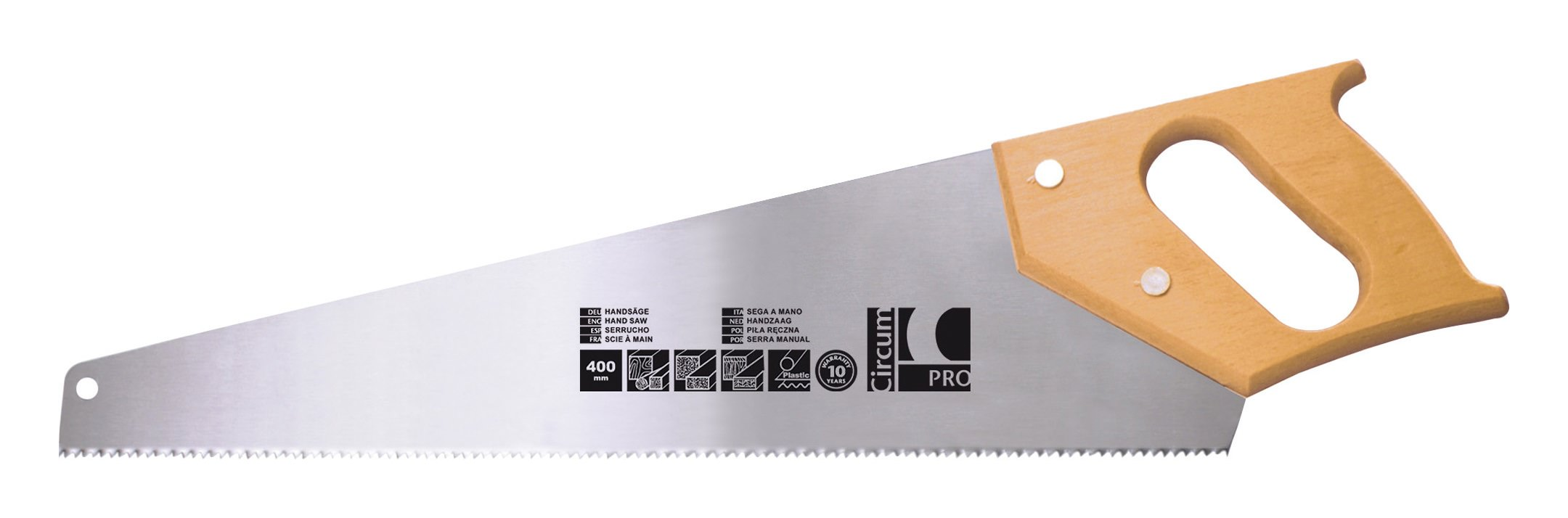 CircumPro Handsäge Holzheft 450mm