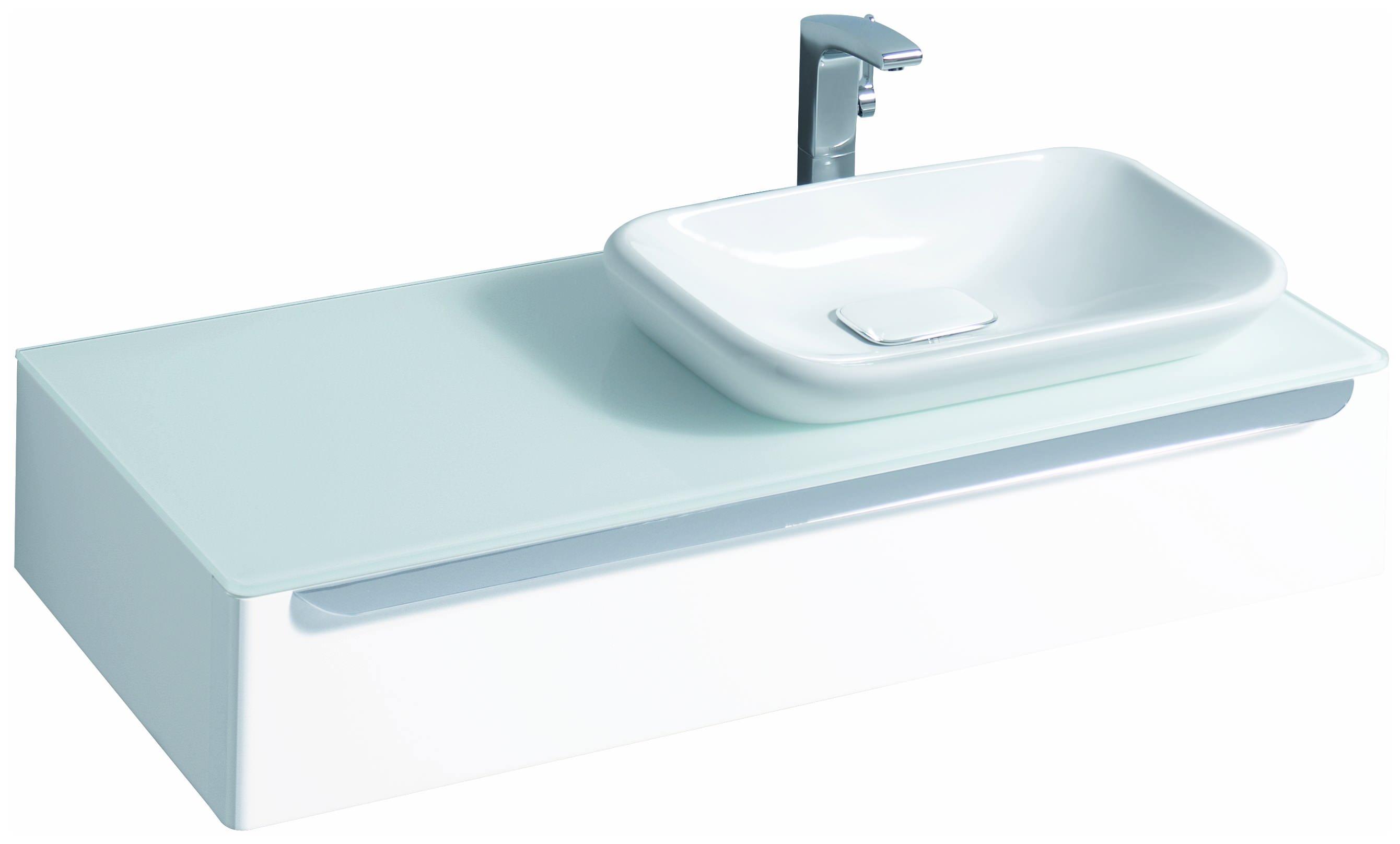 keramag myday einbauwaschtisch ohne berlauf 600mm x 126x390mm wei alpin waschtische. Black Bedroom Furniture Sets. Home Design Ideas