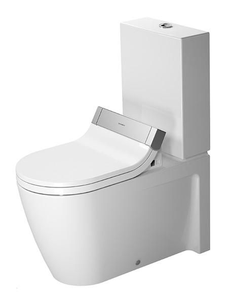 duravit starck 2 stand wc kombination 370 x 725 mm tiefsp ler mit abgang vario nur f r sensowash. Black Bedroom Furniture Sets. Home Design Ideas