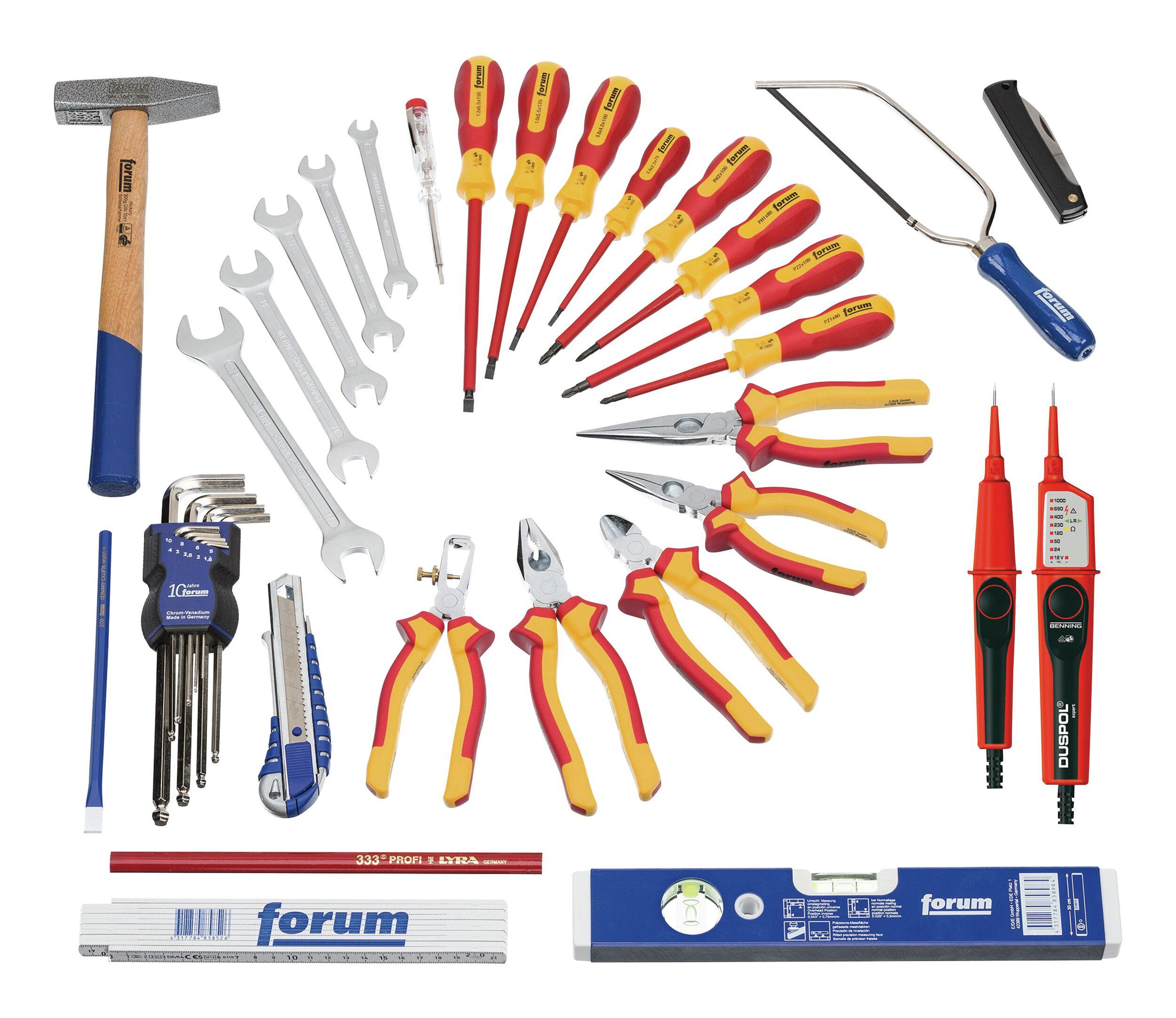 Forum Elektriker-Werkzeugsatz 37tlg.