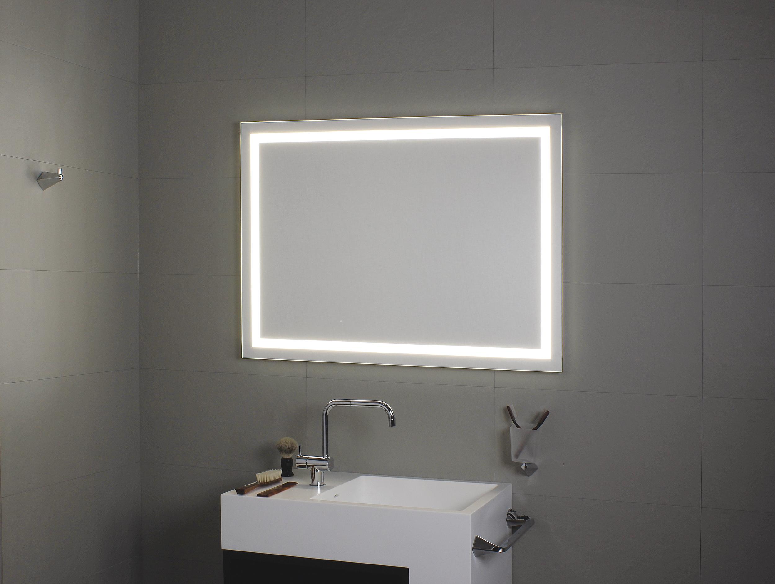 koh i noor perimetrale spiegel mit perimetraler beleuchtung 900 x 800 mm l45983. Black Bedroom Furniture Sets. Home Design Ideas