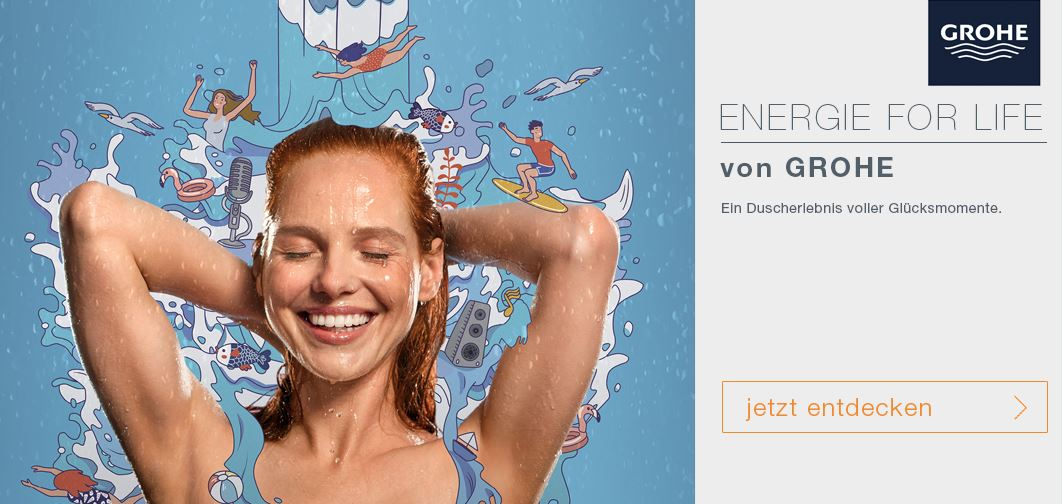 Grohe ENERGIE FOR LIFE