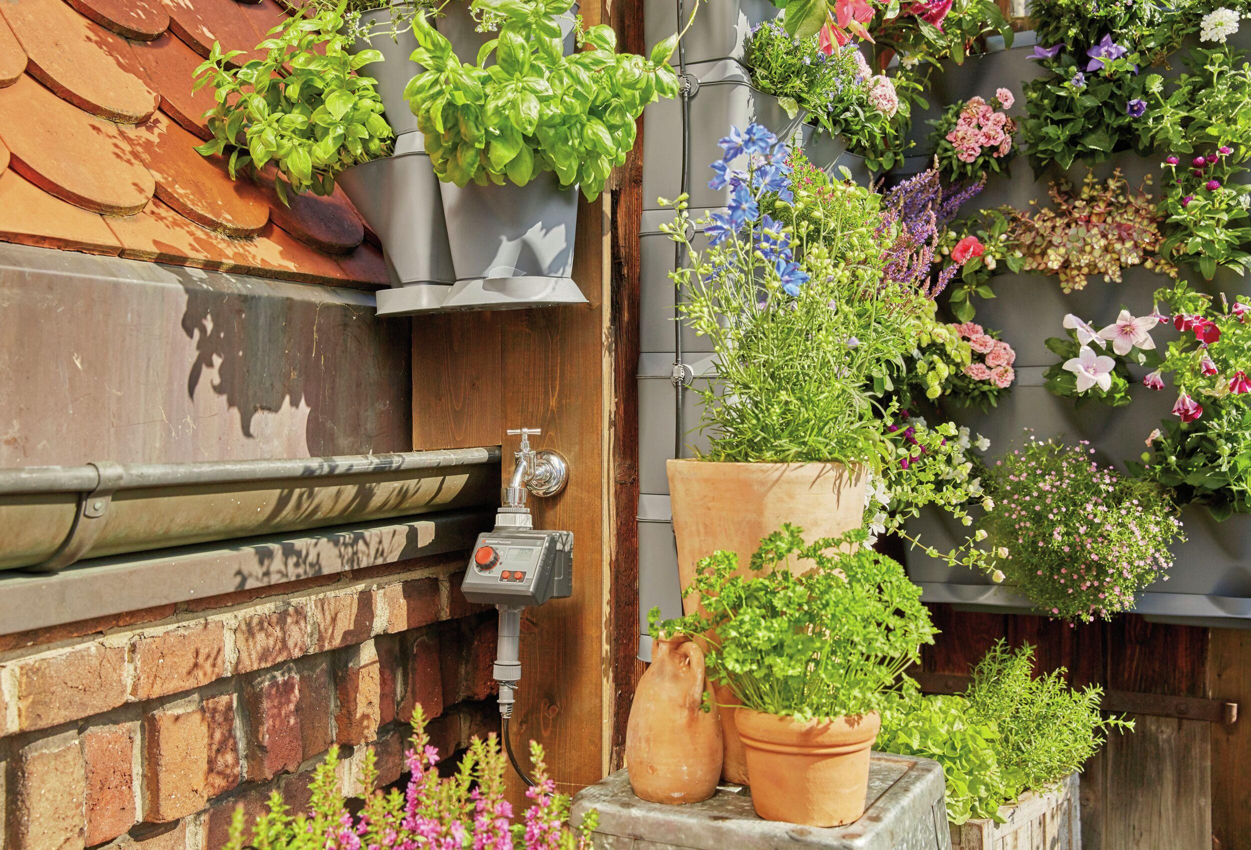 Gardena Bewässerungsset Vertikal Wasserhahn - (VPE: 3 Stück)
