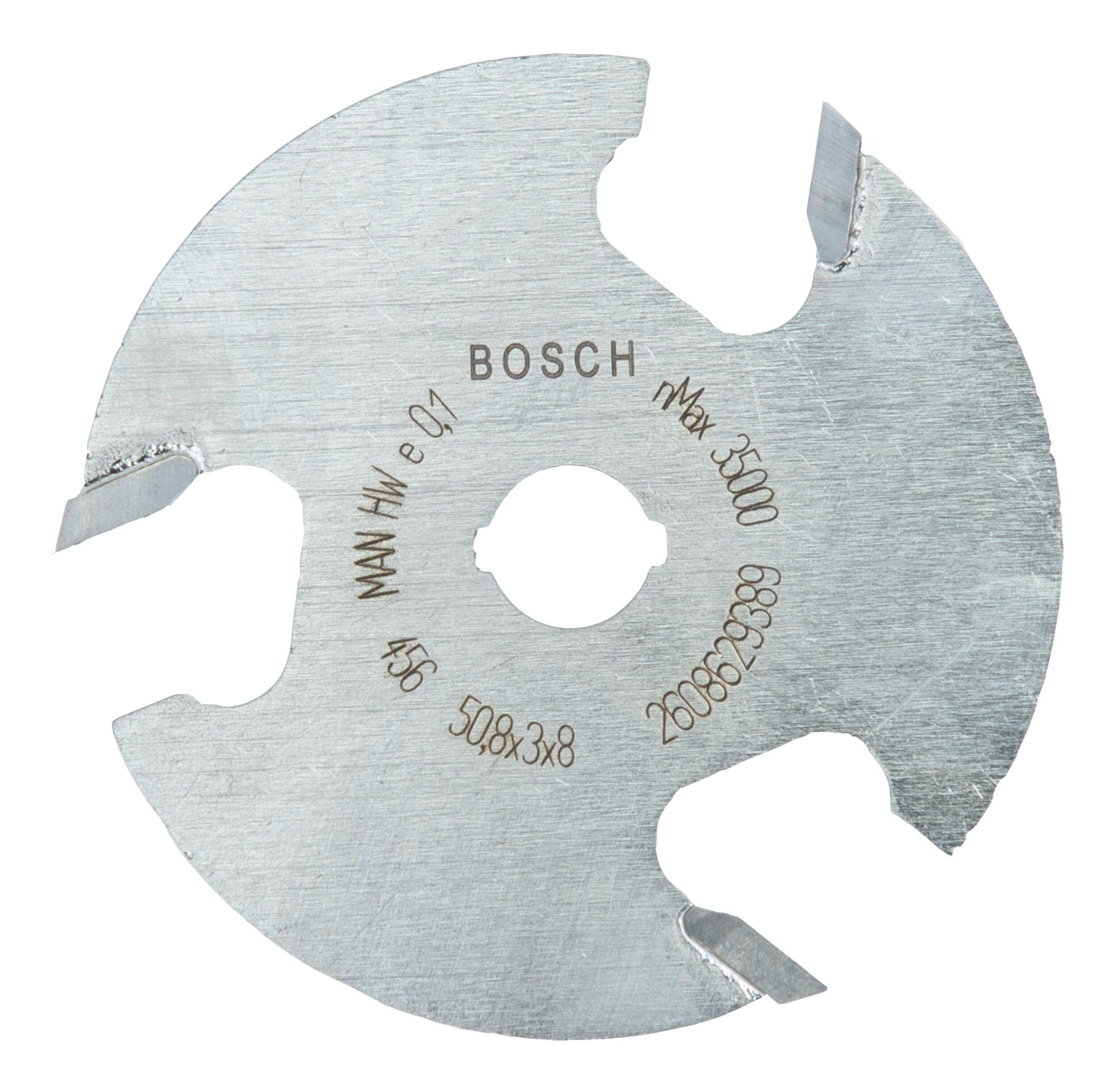 Bosch Zubehör Scheibennutfräser dreischneidig - 50,8 x 3 x 8 x 8 mm - 2608629389