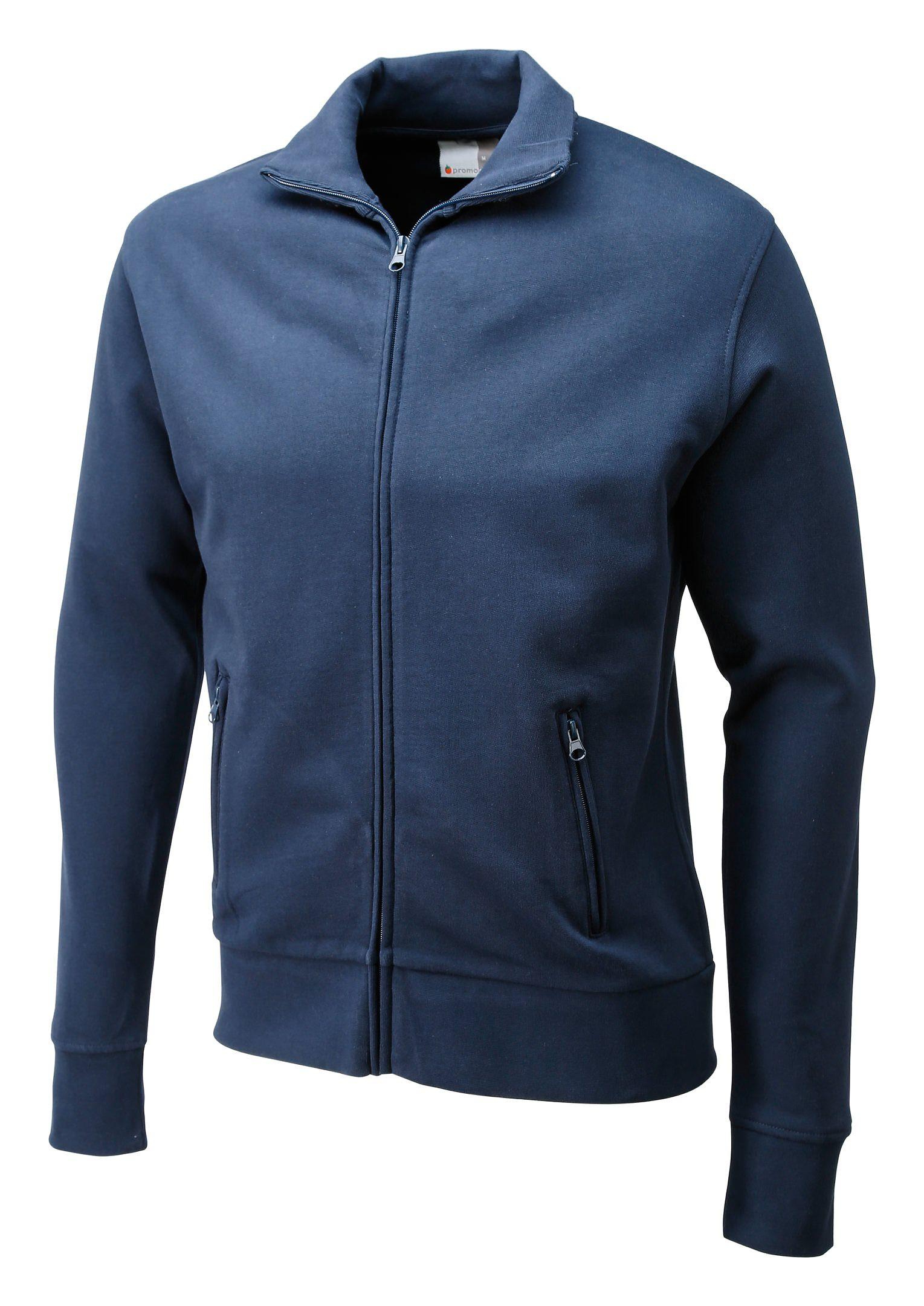 Sweatshirtjacke Größe M navy - 5290F-54-M