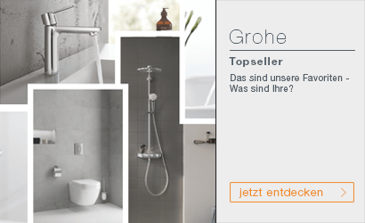 Grohe Topseller für Ihr Badezimmer