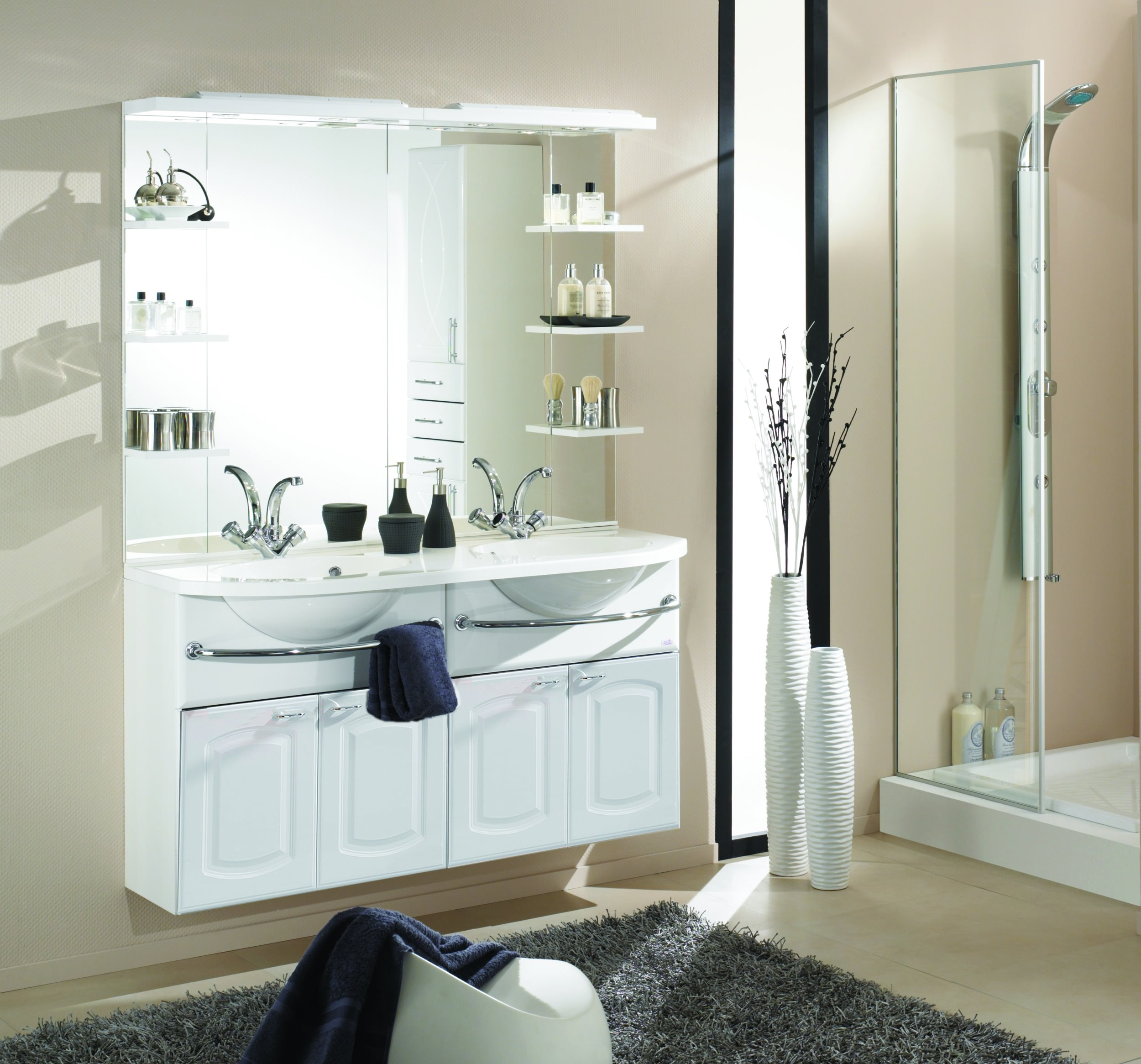 e zoll simply nena badblock 134cm version vd wei miniperl wei hochglanz 29936. Black Bedroom Furniture Sets. Home Design Ideas