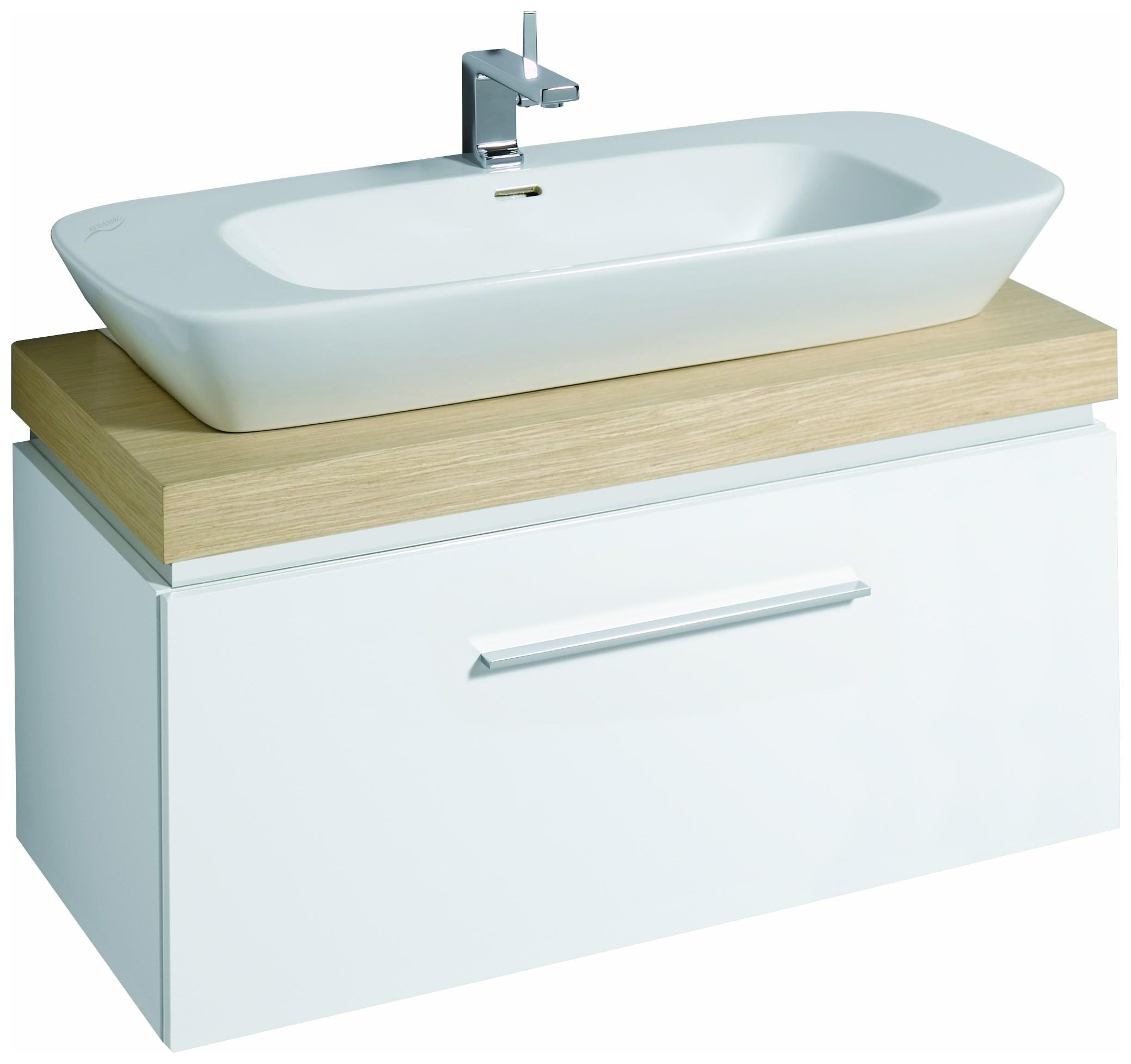 keramag silk waschtischunterschrank 816012 1000x400x470mm. Black Bedroom Furniture Sets. Home Design Ideas