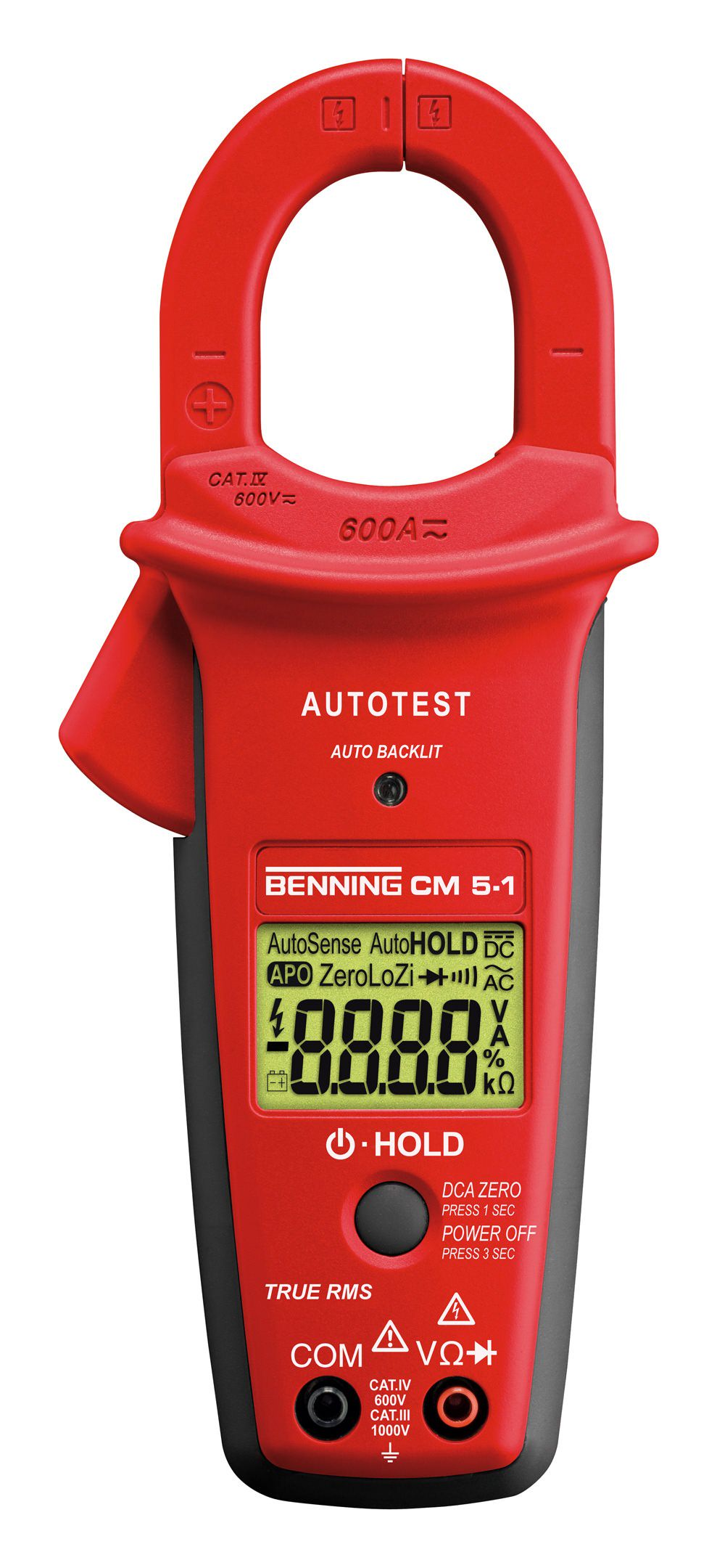 Benning Digital-Stromzähler-Multimeter CM 5-1 - 044066