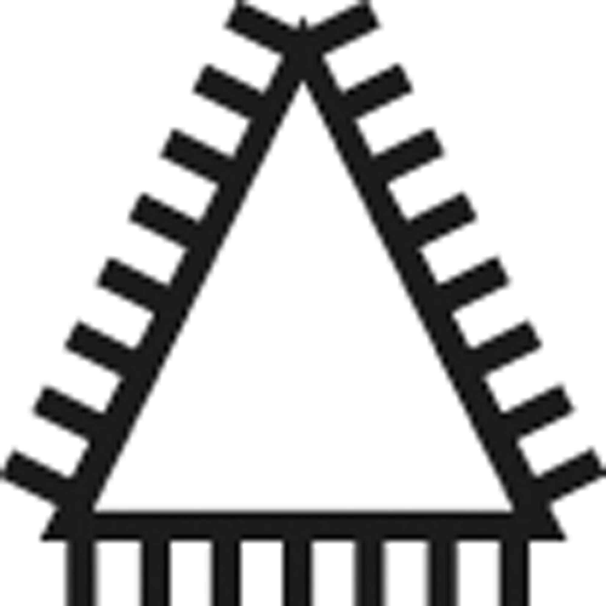 Pferd Dreikantfeile D7261 C 150mm Hieb 1-11211156