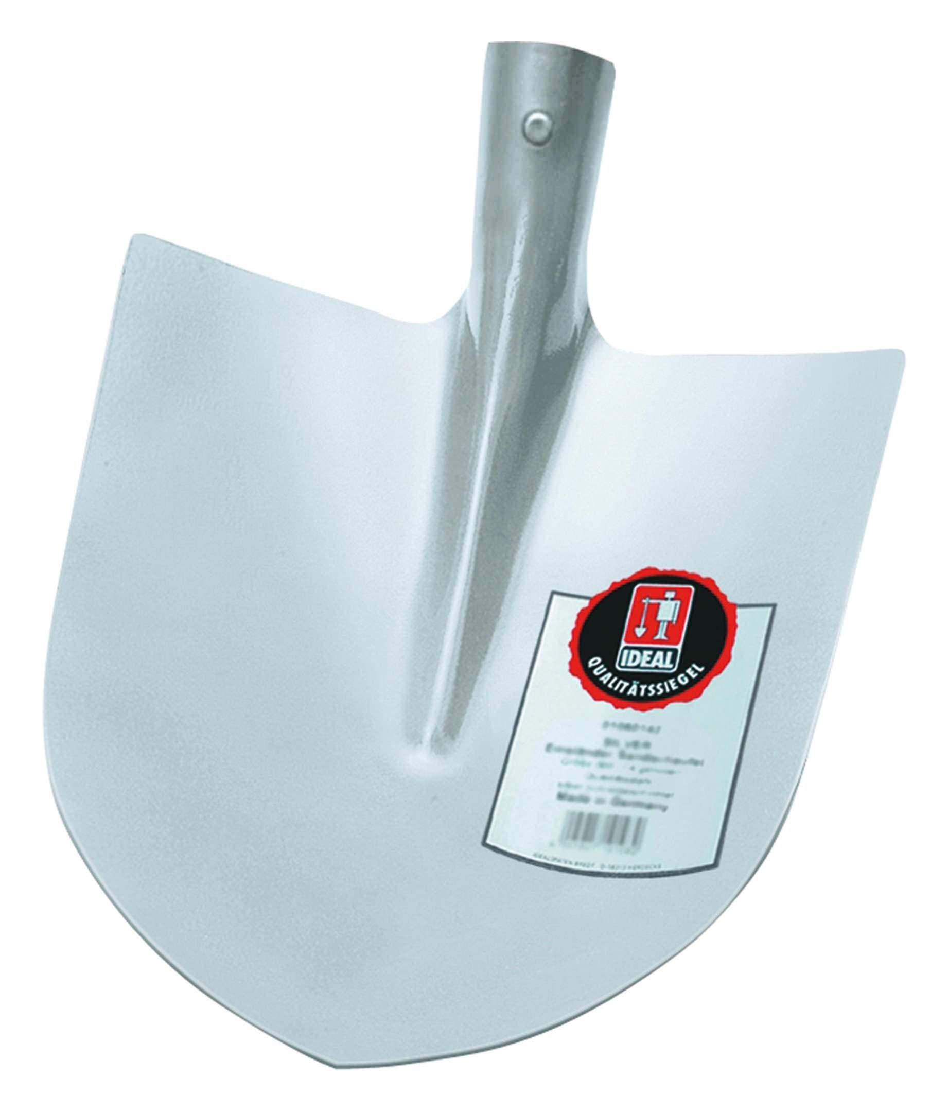 Idealspaten Ideal Frankfurter Schaufel silber Größe 5 - 00010500